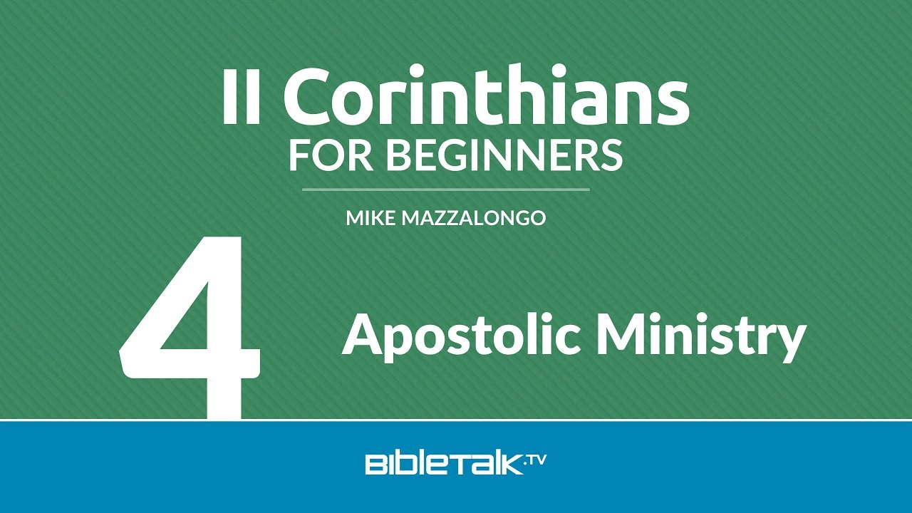 4. Apostolic Ministry