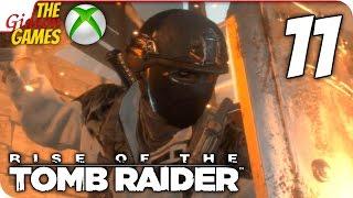 Прохождение Rise of the Tomb Raider на Русском [XBOne] - #11 (В долину)
