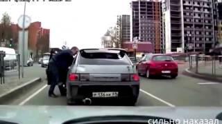 Жестко наказали хамов на дороге - подборка #2