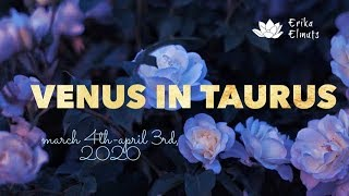 SPEAKING YOUR TRUTH BEGINS A NEW ROMANTIC CYCLE ~ Venus in Taurus Mar 4th-Apr 3rd