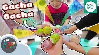 Trải nghiệm máy vặn trứng Gacha Gacha tại Crescent Mall ToyStation 378