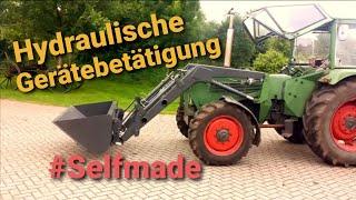 eigenbau traktor mit frontlader free online videos best