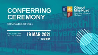 12:30AM – Conferring Ceremony 02 – Friday 19 March