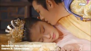 [MV] [Empress Ki]TaNyang Couple - Only Love(Sarangmaneuron)(ENG+Rom+Hangul SUB.) Kim Bum Soo