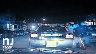 Dashcam video of Ruben Gerena arrest