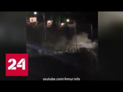 После аварии на ГЭС в Бурейском районе Амурской области введен режим ЧС