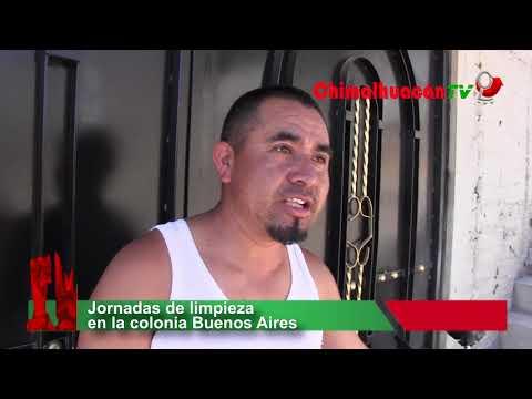 Jornadas de limpieza en la colonia Buenos Aires