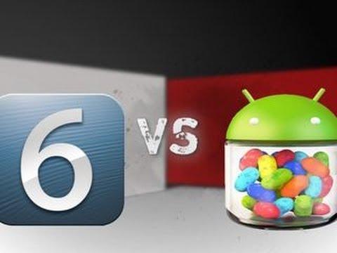 iOS 6 vs. Android Jelly Bean