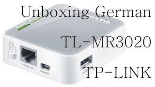 TP-LINK TL-MR3020 - Unboxing Deutsch/German [FullHD]