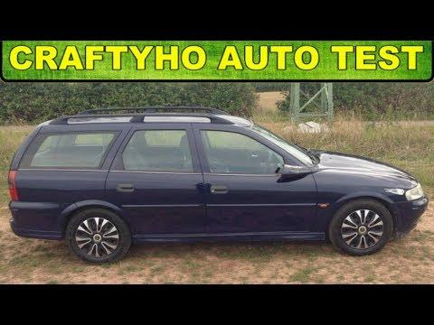 Craftyho auto test ♦ Zase nafta?! :) ▶ Opel Vectra B 2,0 DTi