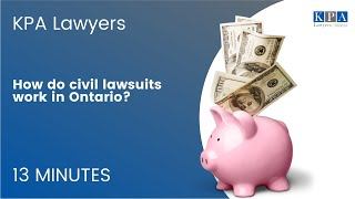 How Do Civil Lawsuits Work in Ontario?