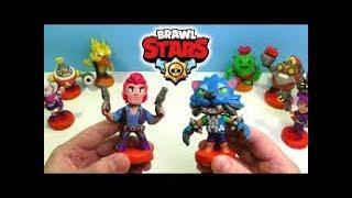 Пакетики с игрушками (BRAWL STARS). Обзор Фигурок Бравл Старс