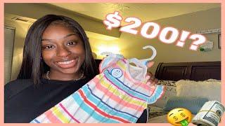BABY GIRL CLOTHING HAUL | Kohl's/Carter's