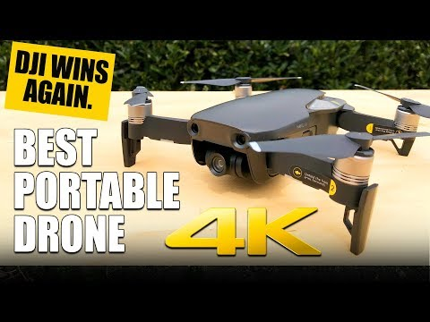 DJI MAVIC AIR – BEST PORTABLE DRONE – Review, Comparision, Pros & Cons