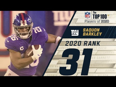 #31: Saquon Barkley (RB, Giants) | Top 100 NFL Players of 2020