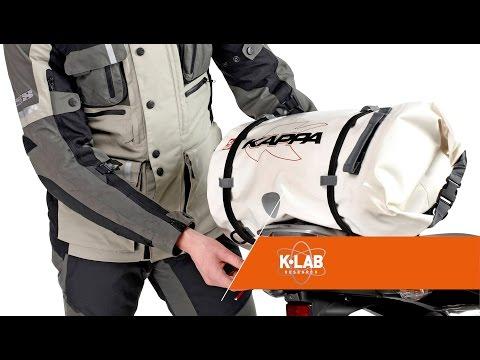 Kappa borsa rullo impermeabile per moto e scooter