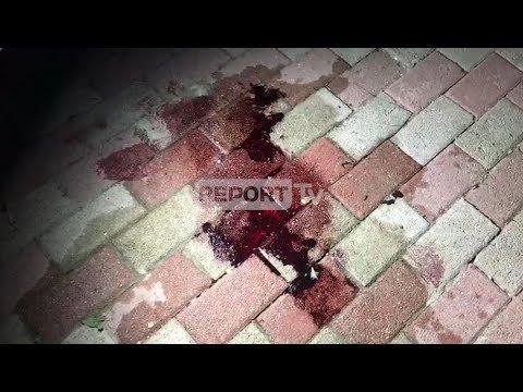 Report Tv - Njollat e gjakut nga plagosja e Gaqo Gjinit në Radhimë