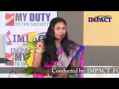 Secrets of Failures|Kavitha|TELUGU IMPACT Khammam 2016