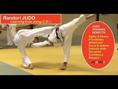 RANDORI JUDO:   Learning by doing     乱取り