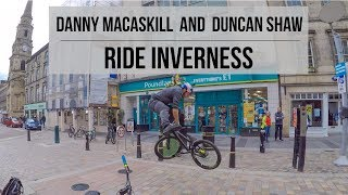 Had a fun ride in Inverness with Duncan Shaw the other day