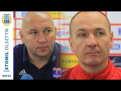 Konferencja prasowa po meczu Stomil Olsztyn - Bruk-Bet Termalica Nieciecza 1:4