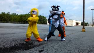 Cartoon Characters | Hit The Quan Dance | Dragon House