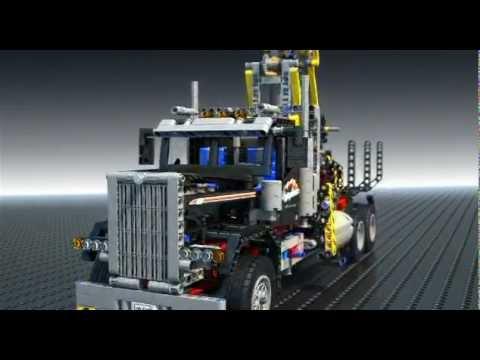 Vidéo LEGO Technic 9397 : Le camion forestier