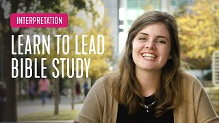Interpretation - How to Lead Bible Study | InterVarsity