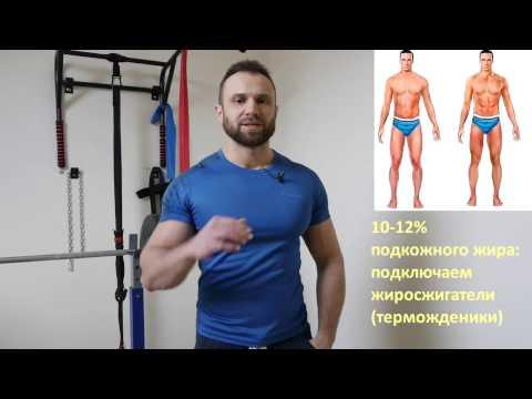 Видеоурок похудения живота