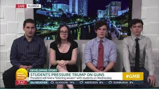 Marjory Stoneman Douglas Students, Good Morning Britain
