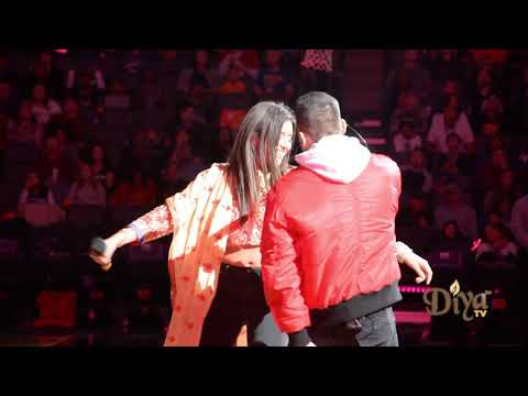 Anjali 'Nani' Ranadive & Mickey Singh | Kings Bollywood Night 2019 Halftime | Kings Vs. Warriors NBA