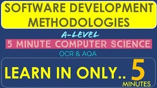 Tutorial 16. SOFTWARE DEVELOPMENT METHODOLOGIES in 5 minutes!