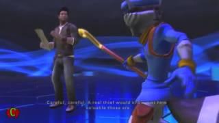 Playstation Allstars Battle Royale Cutscenes 'Sly Cooper Rival' & Ending Cutscenes【HD】