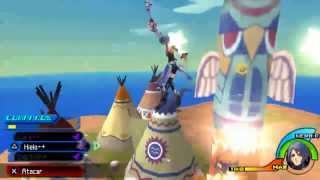 Kingdom Hearts Birth By Sleep (Aqua) Capítulo 55: Aqua la jefa de Exploradores.