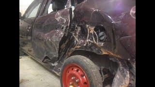 Кузовной ремонт. замена крыла Hyundai Elantra