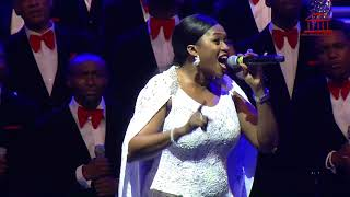 Now Behold The Lamb | Waje & The Lagos Community Gospel Choir | The Carol Concert 2017