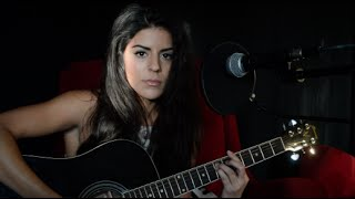 Led Zeppelin - Babe I'm Gonna Leave You ACOUSTIC COVER Veronica Sixtos