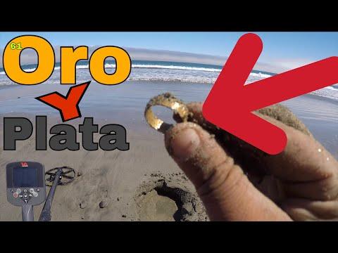 Encontré Oro Y Plata En La Playa