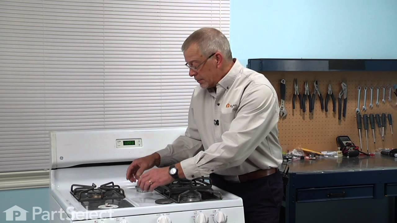 Replacing your General Electric Range Burner Head - Medium - 9500