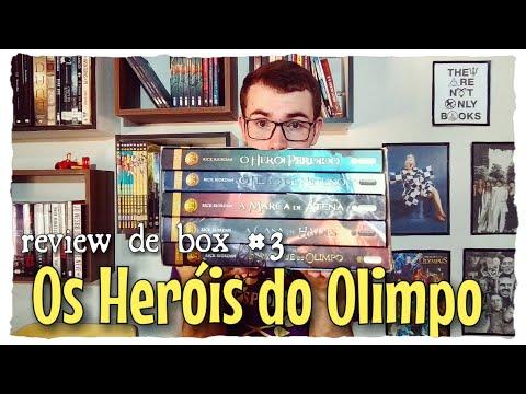 Review Box #3: Os Heróis do Olimpo