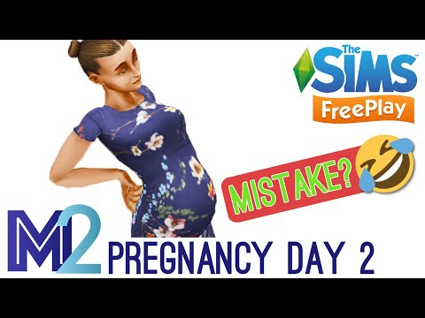 Sims FreePlay - Pregnancy Event Day 2 of 9 (Walkthrough)