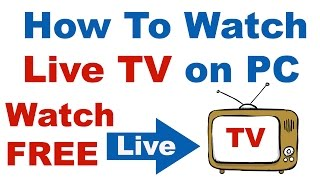 How To Watch 🔴 Live TV on PC  for FREE In Hindi/Urdu (Step By Step) Tutorial