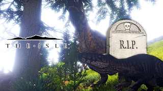 The Isle - EVERYTHING DIED, BLEED IS BACK & LEG BREAKING SHANTS CAUSE TERROR TO REX ( Gameplay )