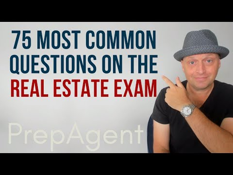 75 Most Common Questions on the Real Estate Exam (2021 ...