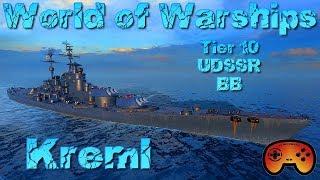 """Noch mehr """"Kreml"""" Gameplay und Eindrücke T10 RU BB angespielt in World of Warships auf Deutsch"""