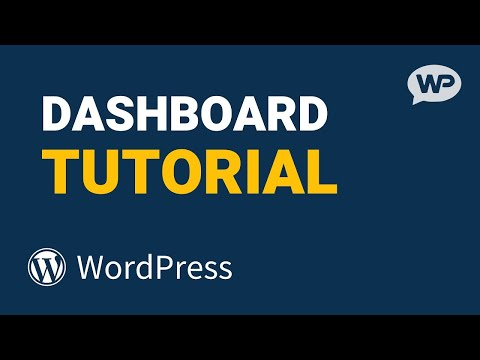 Wordpress Dashboard Tutorial for Beginners    Bangla    2021
