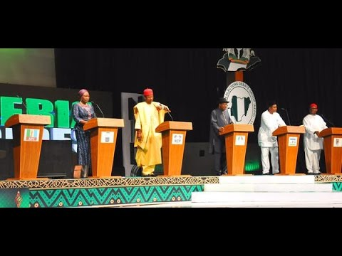 Nigerian 2015 presidential debate -clearer and faster download version