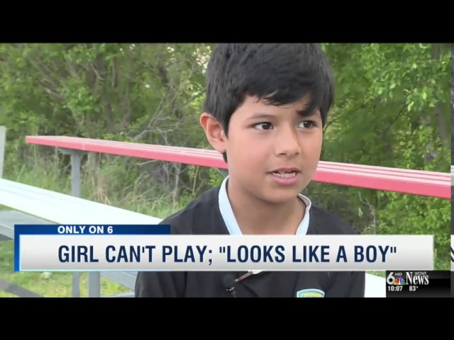 8 year-old girl disqualified from soccer game because she