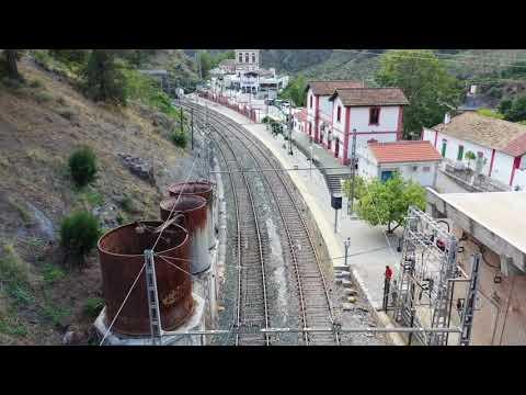 Estación de ferrocarriles de El Chorro. Candidatura a Patrimonio Mundial UNESCO