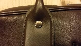 Louis VUITTON Authentic SIWA Soft Leather Briefcase Limited Edition Mens Runway